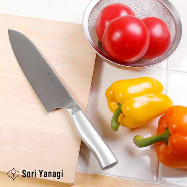 柳宗理 キッチンナイフ18cm(オールステンレス製包丁)