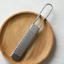 ステンレスグレーター パルミジャーノS ビアンキ BIANCHI イタリア製 チーズグレーター 削り器 おろし金
