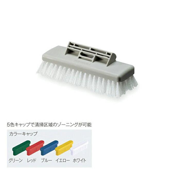 【デッキブラシ】 FXデッキブラシ (テラモト CL-319-000-0) [業務用 お掃除 清掃 ブラシ FXシリーズ]