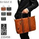 バジェックス ビジネス ショルダー ブラック ブラウン ネイビー オレンジ ビンテージシリーズ