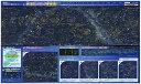 【送料無料】暗い所で星が光る2017年度ウオチ学習机デスクマット光るわくわく星座裏面 世界地図 両面クリア