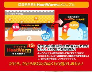 HeatWarm(ヒートウォーム)発熱あったか2枚合わせ敷きパッドシングルサイズ【発熱あったかヒートウォーム敷きパッド敷き布団】【受注発注】02P01Sep13【RCP】【a_b】