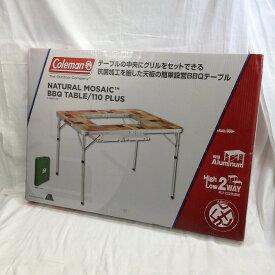 【中古】コールマン バーバキューテーブル/110プラス BBQ ナチュラルモザイク[jggZ]