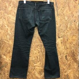 【中古】バーバリーブラックレーベル メンズ パンツ ネイビー BMS09 351 29 表記サイズ:72 [jggI]
