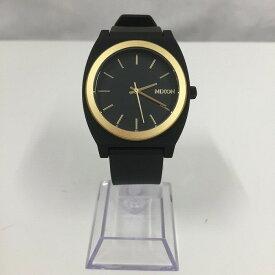 【中古】ニクソン MINIMAL メンズ腕時計 SS ラバー GP クオーツ ブラック文字盤[jggW]