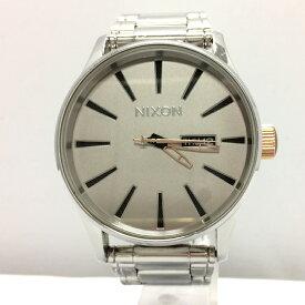 【中古】ニクソン メンズ腕時計 スターウォーズコレクション セントリー クオーツ シルバー [jggW]