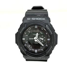 【中古】カシオ Gショック メンズ腕時計 ブラック クオーツ GA-150-1AJF [jggW]