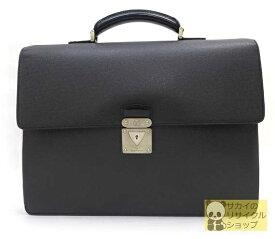 LOUIS VUITTON ビジネスバッグ/ブリーフケース ネオ・ロブスト1 M32762 タイガ アルドワーズ(ブラック・黒) 使い勝手の良いビジネスバッグ♪【中古】