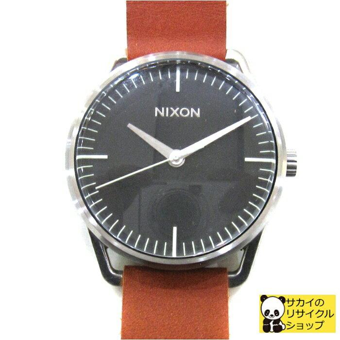 NIXON ニクソン THE MELLOR メラー NA1291037-00 メンズ レディース腕時計 男女兼用 ユニセックス ブラック ブラウン クオーツ[mo]