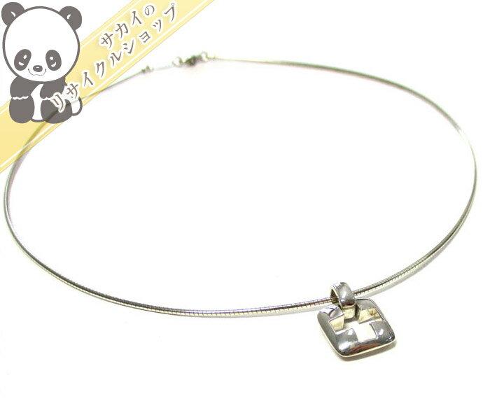 TIFFANY&Co. クロス ペンダント チョーカー スターリングシルバー SV925 【中古】[iw]
