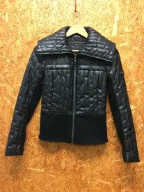 BCBG MAXAZRIA マックスアズリア ダブルライダースジャケット ブラック系 表記サイズ:XS [ka][GJ]【ir】