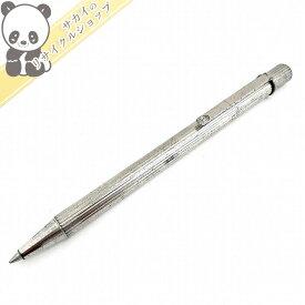 【中古】Cartier マスト ドゥ Cartier ツイスト式 ボールペン シルバー インク黒