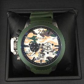 【中古】ブレラ オロロジ ミリターレ サウスポーモデル メンズ腕時計 BRML2C48 [jggW]