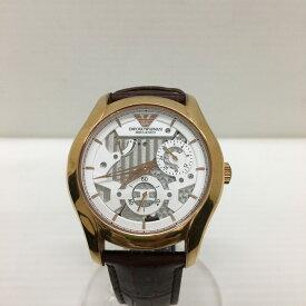 【中古】エンポリオアルマーニ メカニコ メンズ腕時計 自動巻き AR-4675 [jggW]