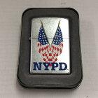 【中古】ジッポ オイルライター NYPD ニューヨーク市警 2003[jgg]