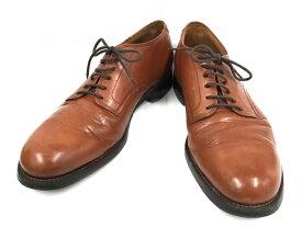 【中古】バズリクソンズ メンズシューズ サービスシューズ 革靴 ブラウン 表記サイズ8 1/2 E[jggS]