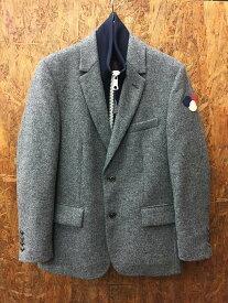 【中古】モンクレール メンズ テーラードダウンジャケット グレー 表記サイズ:1[jggI]