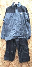 【中古】レインクルードットコム コンビ 縫製合羽 上下セット PAL-ME6342 表記サイズ:LL[jggI]