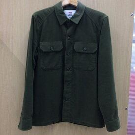 【中古】シュプリーム メンズ フィールドシャツ カーキ 表記サイズ:S[jggI]