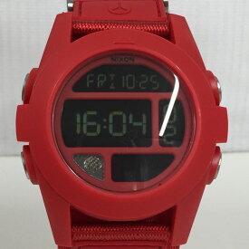【中古】ニクソン メンズ腕時計 バハ レッド クオーツ 樹脂 ナイロン A489191[jggW]