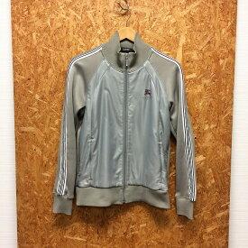 【中古】バーバリー ブラックレーベル メンズ トラックジャケット グレー 表記サイズ:2[jggI]