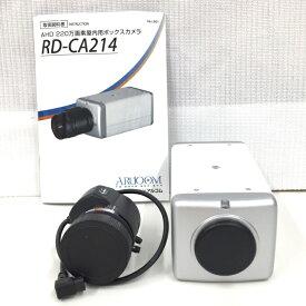 【中古】アルコム 室内用広角ボックスカメラ 防犯カメラ AHDカメラ 220万画素 ホワイト RD-CA214[jggZ]