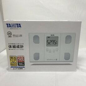【中古】タニタ 体組成計 BC-314-WH[jggZ]