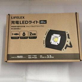 【中古】コーナン商事株式会社 LIFELEX 充電 LEDライト 20w [jgg]