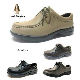 ハッシュパピー(Hush Puppies) レディース 靴 タウンシューズ L-2713 軽量・防水・防滑 2019年秋の新作 L-2712の防水タイプ 色クロ・ブロンズ