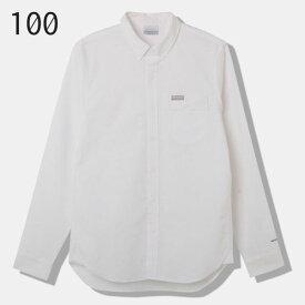 ◎コロンビア PM6471・グリーンストーンリッジロングスリーブシャツ(メンズ)【50%OFF】