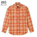 (4)フォックスファイヤー 5112733・トランスウェット ツートンチェックシャツL/S(メンズ)【50%OFF】