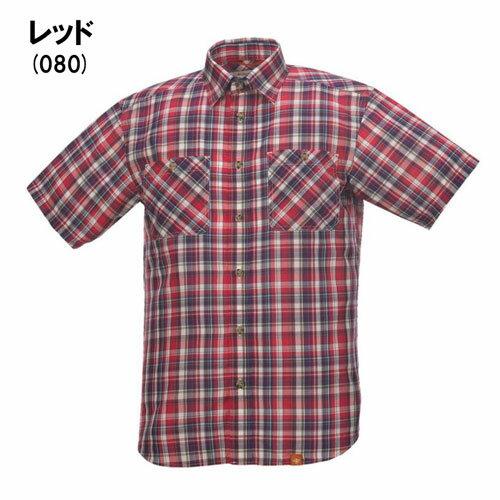 ◎フォックスファイヤー 5212526・TSカロデンチェックシャツS/S(メンズ)【50%OFF】