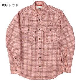 ◎フォックスファイヤー 5212971・トランスウェット (TS)スモールチェックシャツ(メンズ)【50%OFF】