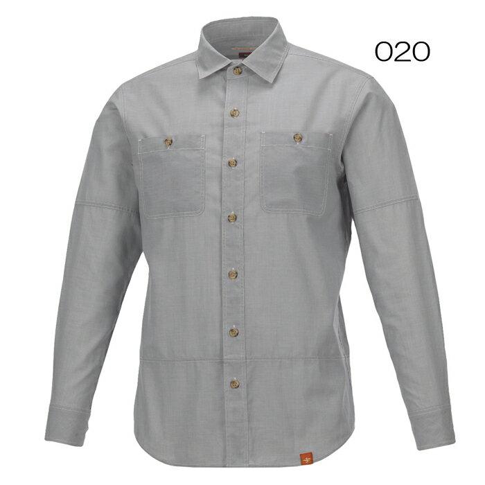 ◎フォックスファイヤー 5212634・スコーロン シャンブレーシャツL/S(メンズ)【50%OFF】