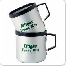 ●EPI・アルパインマグカップM シルバー(C-5103)