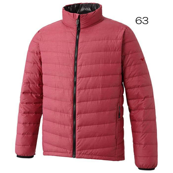 ○ミズノ A2ME7556(J)・ブレスサーモダウン ライトウエイトジャケット(メンズ)【45%OFF】