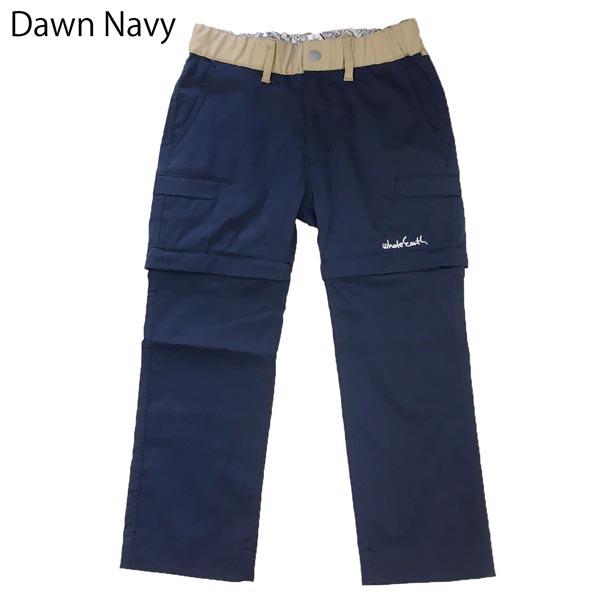 ○ホールアース WES17K02-6112・Kids Convertible Pants/キッズ コンバーチブルパンツ【42%OFF】