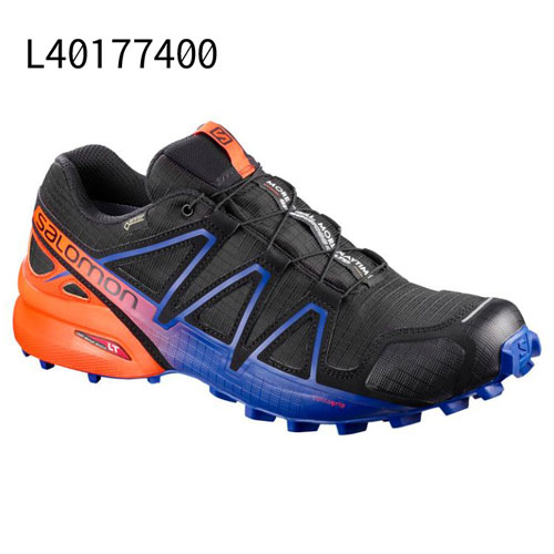 ◎サロモン L40177400・SPEEDCROSS 4 GORE-TEX/スピードクロス 4 ゴアテックス(BLACK/SCARLET IBIS/SURF THE WEB)【31%OFF】