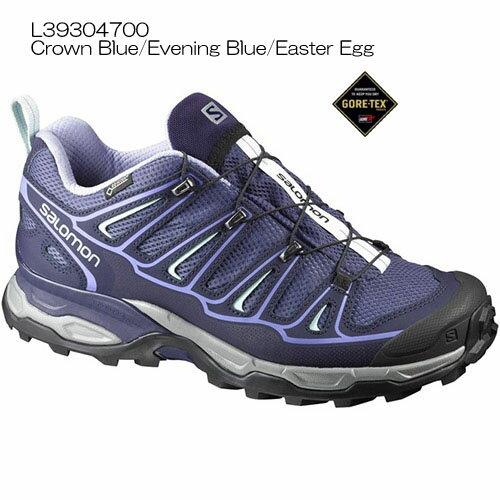 ◎サロモン L39304700・X ULTRA 2 GTX W/X ウルトラ 2 ゴアテックスウイメンズ(Crown Blue/Evening Blue/Easter Egg)【40%OFF】