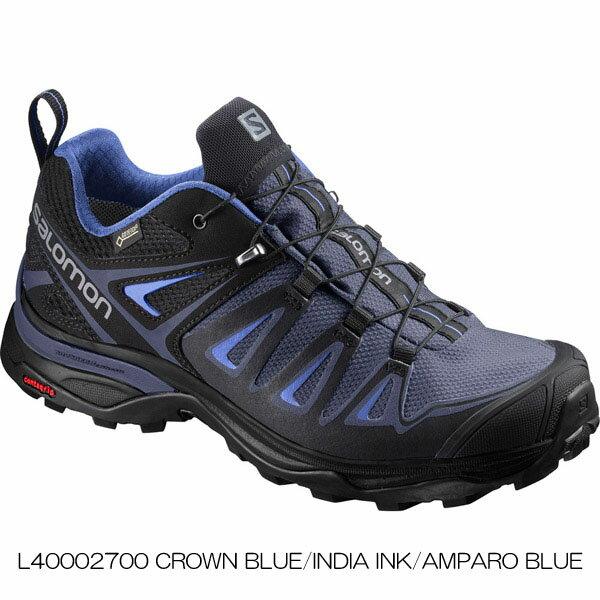 ◎サロモン L40002700・X ULTRA 3 GORE-TEX W/X ウルトラ 3 ゴアテックス ウイメンズ(CROWN BLUE/INDIA INK/AMPARO BLUE)【41%OFF】