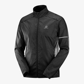 ◎サロモン LC1047200・AGILE WIND JKT M/アジャイルウインドジャケット メンズ(Black)【45%OFF】