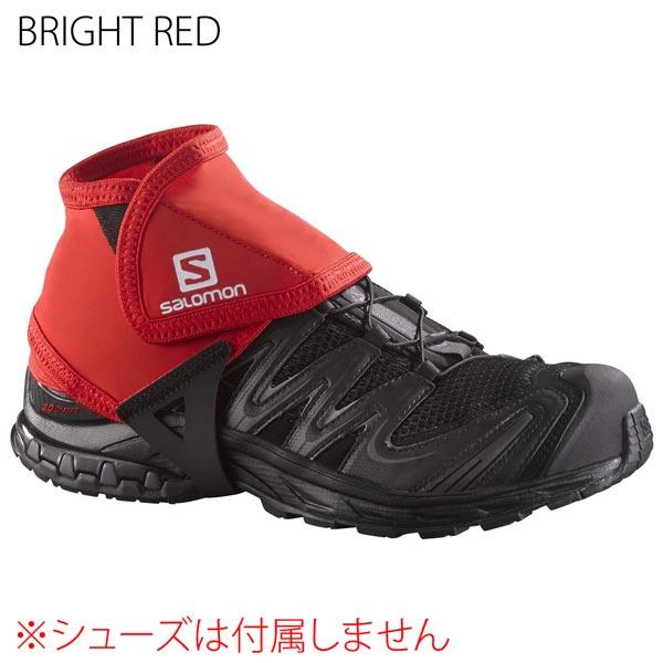 ◎サロモン L38002000・TRAIL GAITERS LOW/トレイルゲイター ロー(BRIGHT RED)