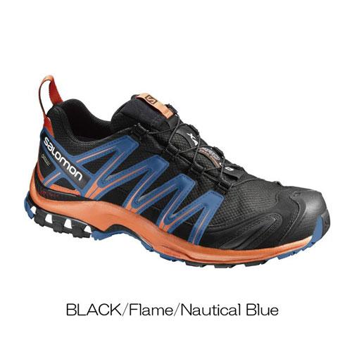 ◎サロモン L39331700・XA PRO 3D GTX/XA プロ 3D ゴアテックス(BLACK/Flame/Nautical Blue)【40%OFF】
