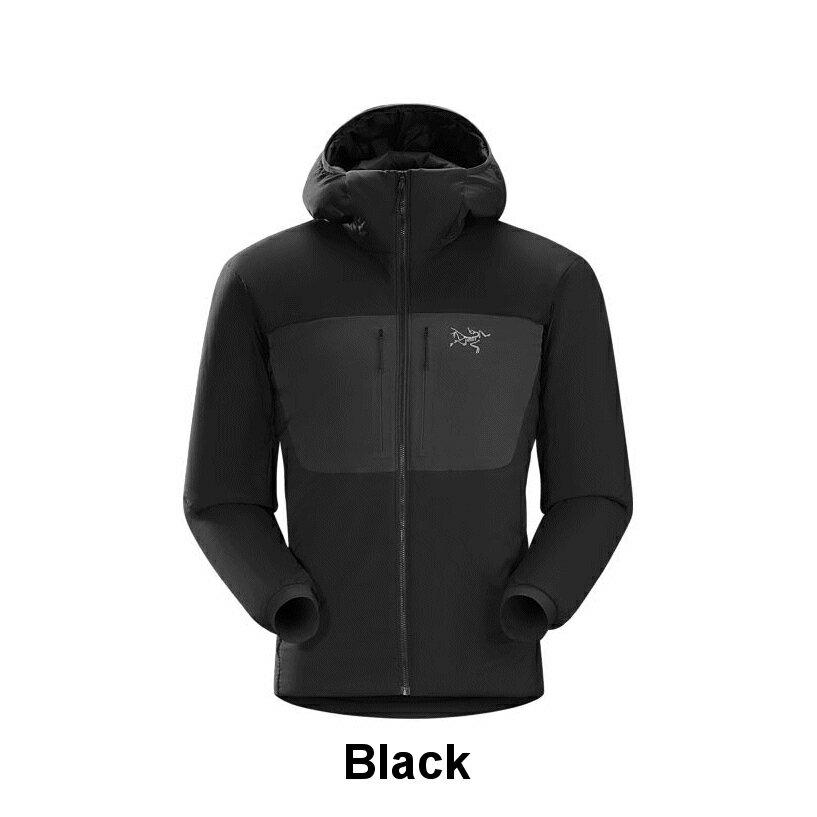 ◎アークテリクス 18353・Proton AR Hoody Men's/プロトンARフーディー メンズ(Black)L06746300