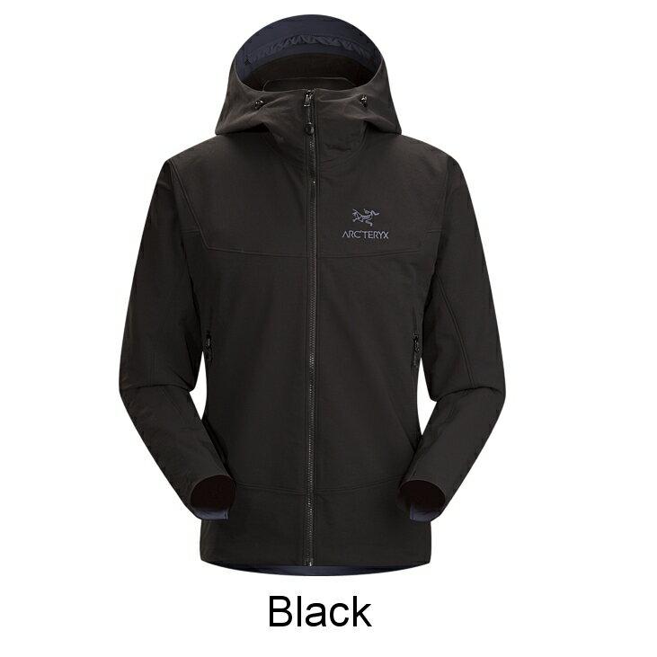 ◎アークテリクス 17307・Gamma LT Hoody Men's/ガンマLTフーディー メンズ(Black)L06610400