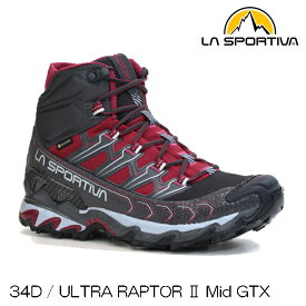 (S)LA SPORTIVA(スポルティバ)34DULTRA RAPTOR 2 Mid GTX W'S(ウルトララプター2ミッドGTXウィメンズ)【登山靴】【ハイキングシューズ】【店頭品】
