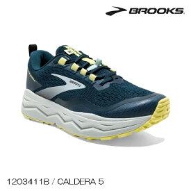 (S)BROOKS(ブルックス)/ 1203411B409 / CALDERA 5 W'S(カルデラ5ウィメンズ)【トレイルランニング】【シューズ】【店頭品】