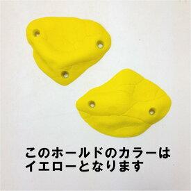 (2)EXPRESSION/エクスプレッション・デザートポイントスクリューオンPU(イエロー/4-73)【2個売り】【クライミングホールド(4)】