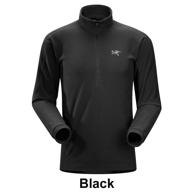 ◎アークテリクス 17584・Delta LT Zip/デルタLTジップ(Black)L06529500