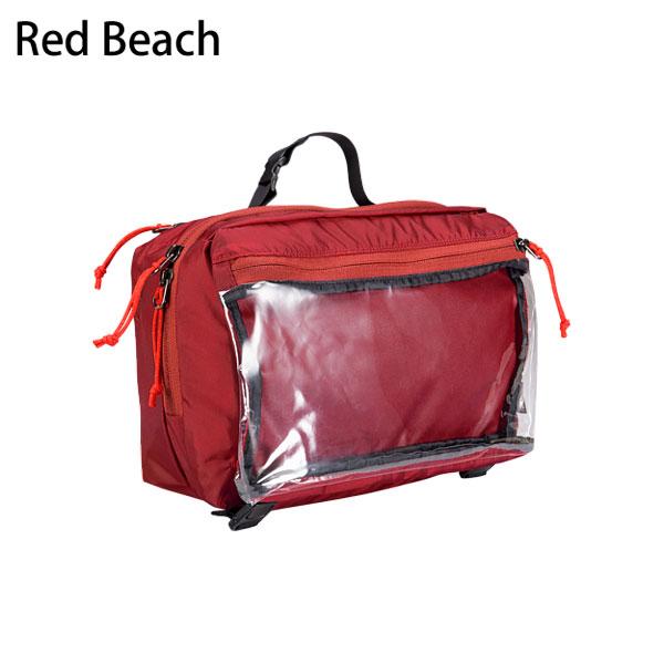 ◎アークテリクス 16163・Index Large Toiletries Bag/インデックス ラージトイレタリーバッグ(Red Beach)L07016700